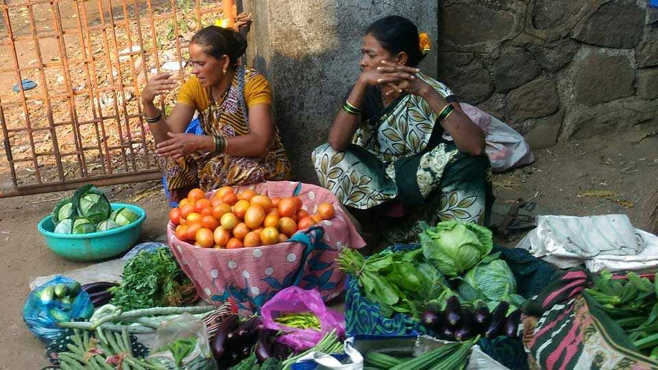 The vegetable produced by the tribals is not getting the price