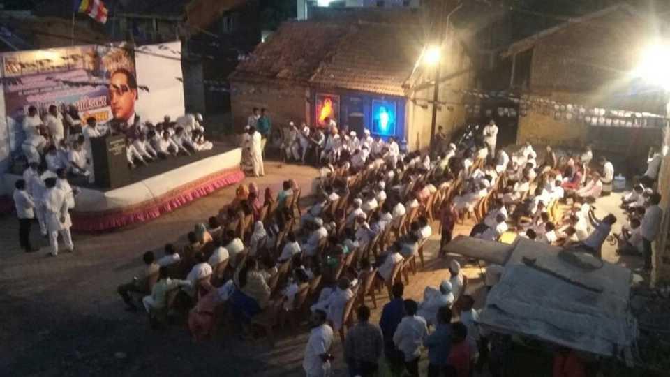 Dr Babasaheb Ambedkar Jayanti Celebrate in Dhamani