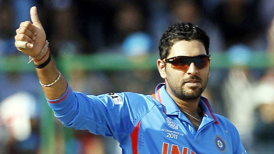 cricket news yuvraj singh champions trophy indian team cricket match score marathi news