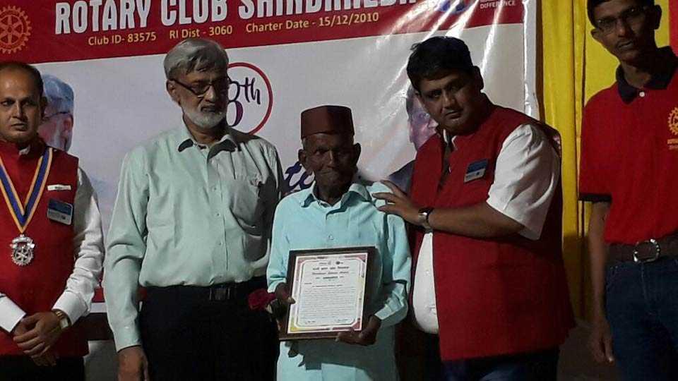 Madhukar Girase felicitation