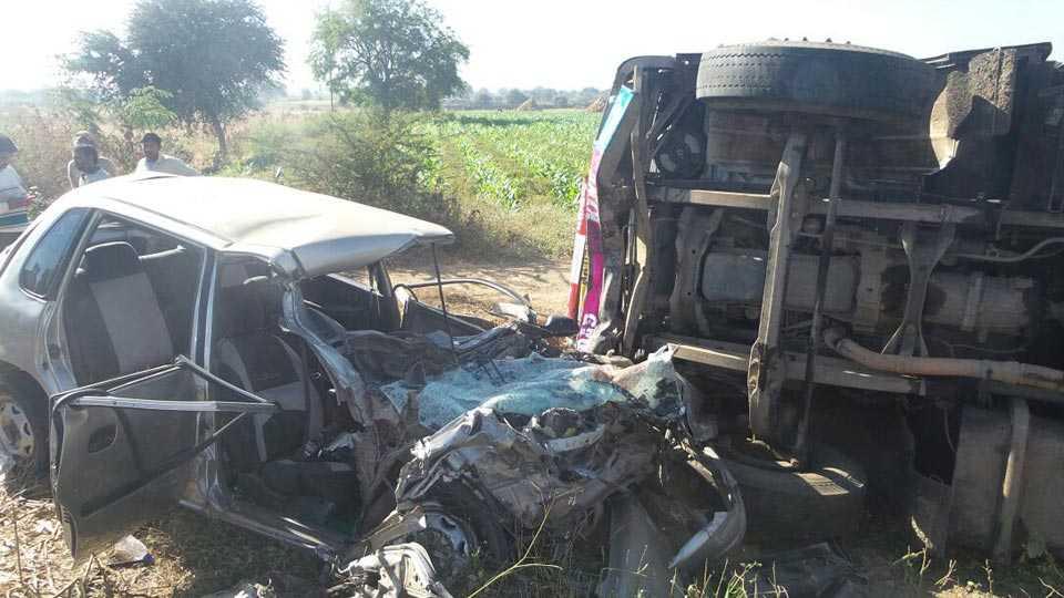 accident in Jalna