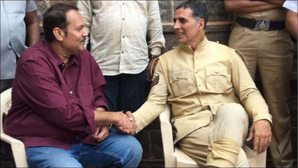 udayanraje bhosale and akshay kumar