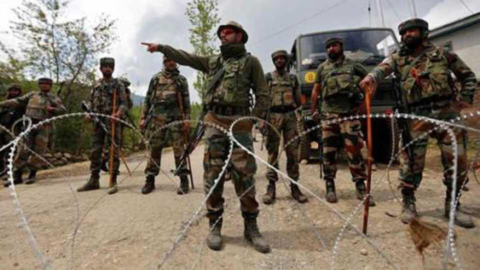 kashmir news infiltraion terrorist indian troops indian military militant killed