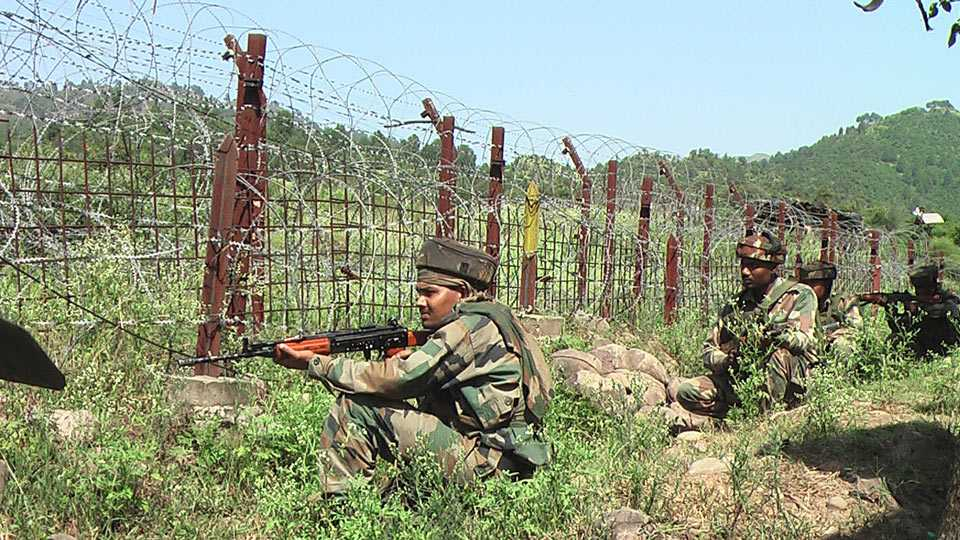 Ninth ceasefire violation by Pakistan since June 1st