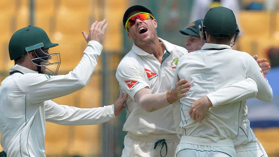 Mitchell Starc and Josh Hazlewood derailed the Indian innings in Bangalore