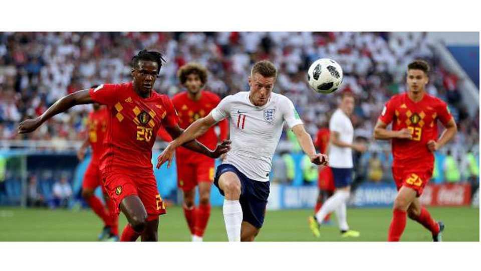 Belgium vs England match Football World Cup