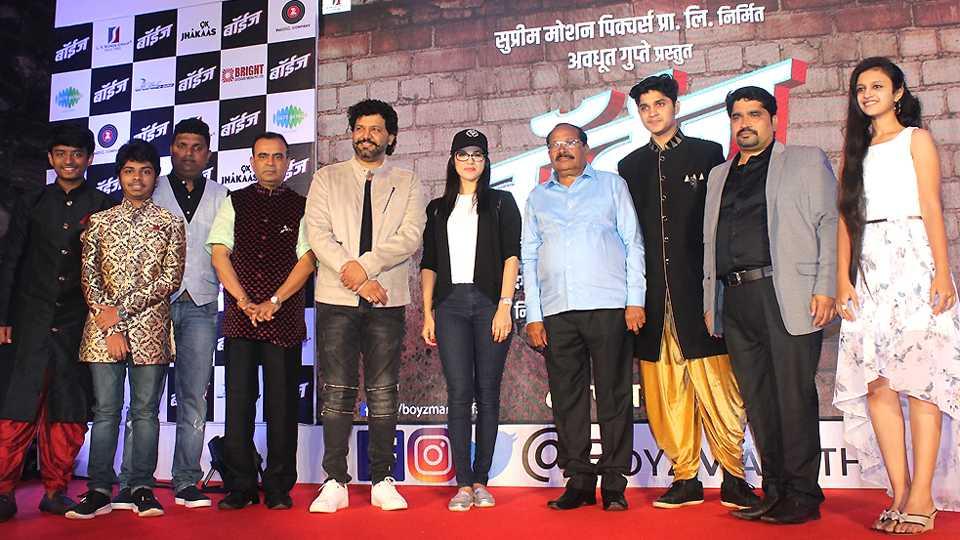 Sunny lioni in marathi movie boyz esakal news