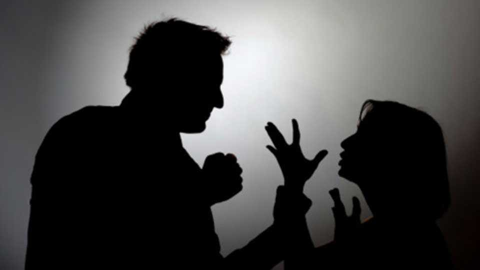 Molestation and assault of the woman in the house