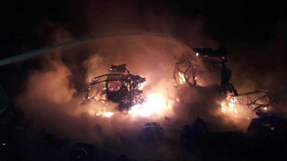 More than 900 cylinders blast near Chintamani, Karnataka