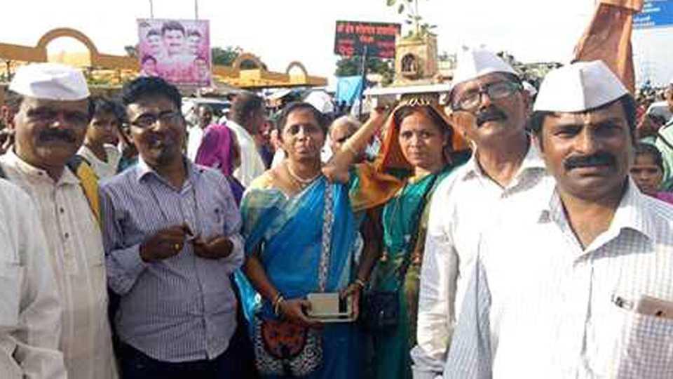 marathi news palkhi news sahitya dindi prabhodhan dindi