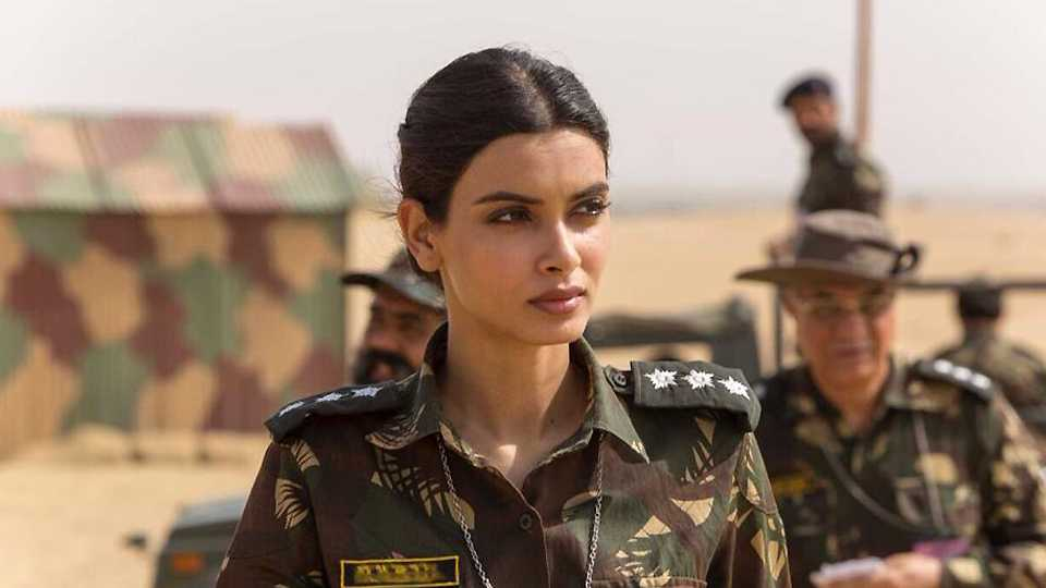 Diana Penty became military officer