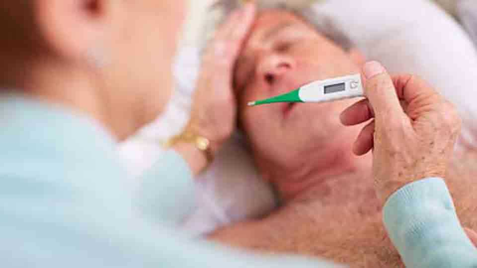 Increase of fever patients in the pune city