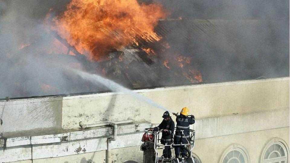 Fire Breaks Out at Mumbai's Air India Building at Nariman Point