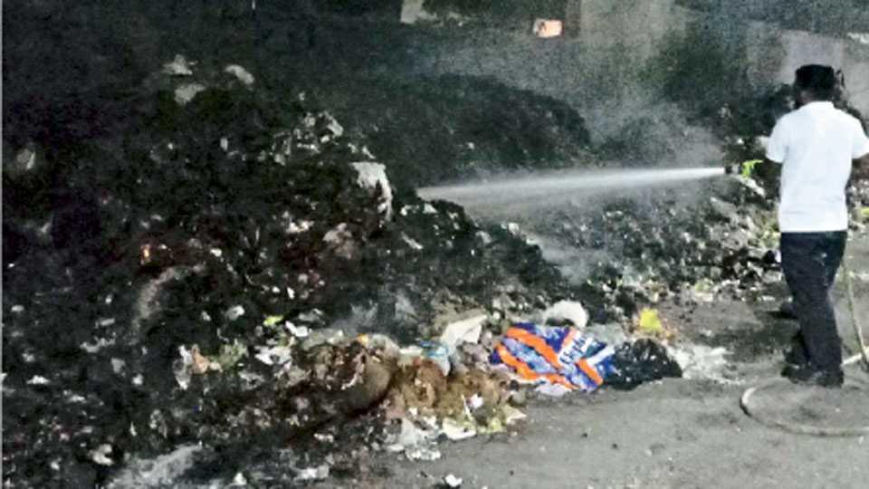 garbage-fire-aurangabad
