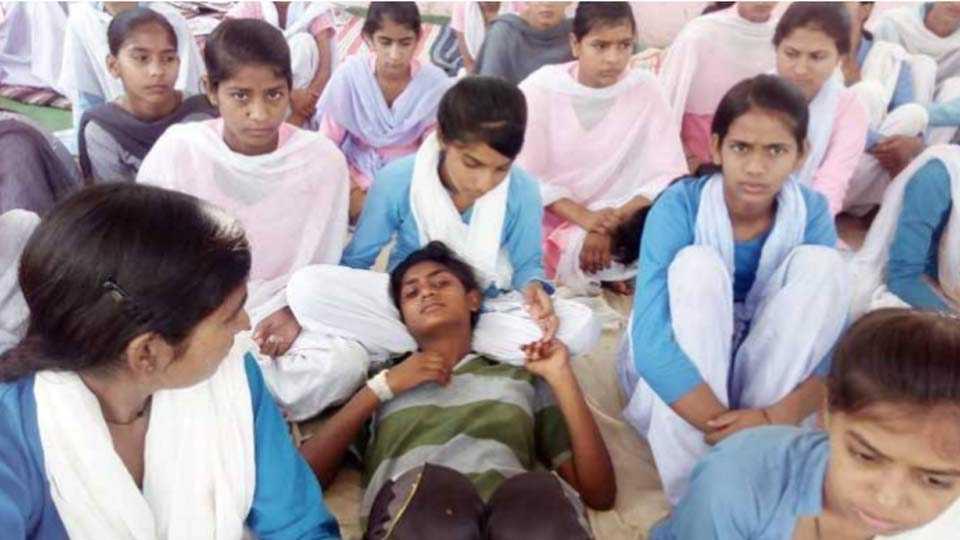 big win for rewari girls protesting for their education in haryana