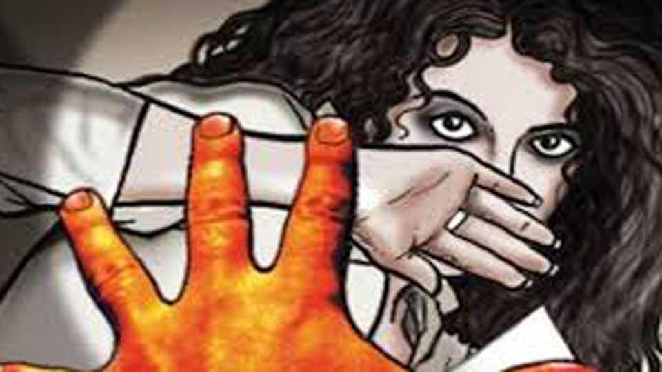gang rape on women in a car