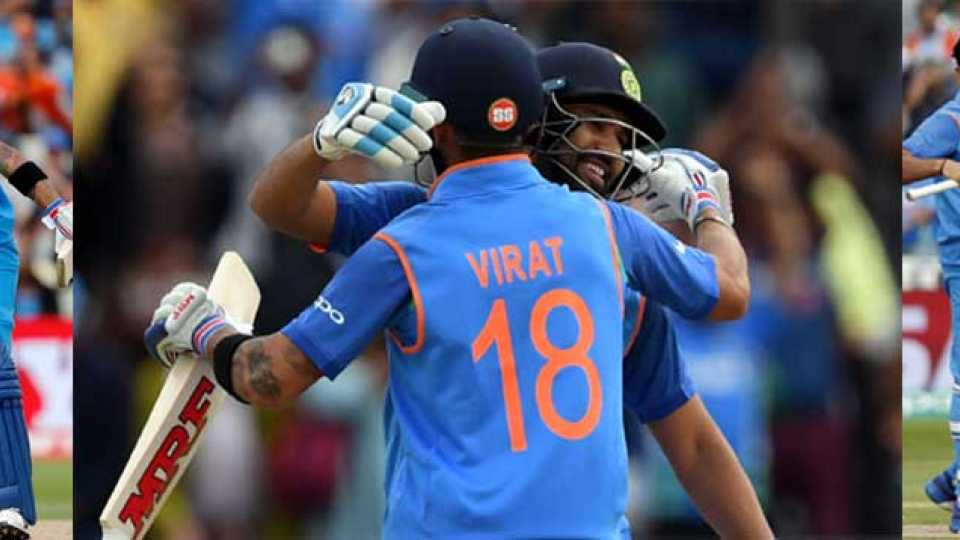 marathi news cricket score india won INDvBAN INDvPAK