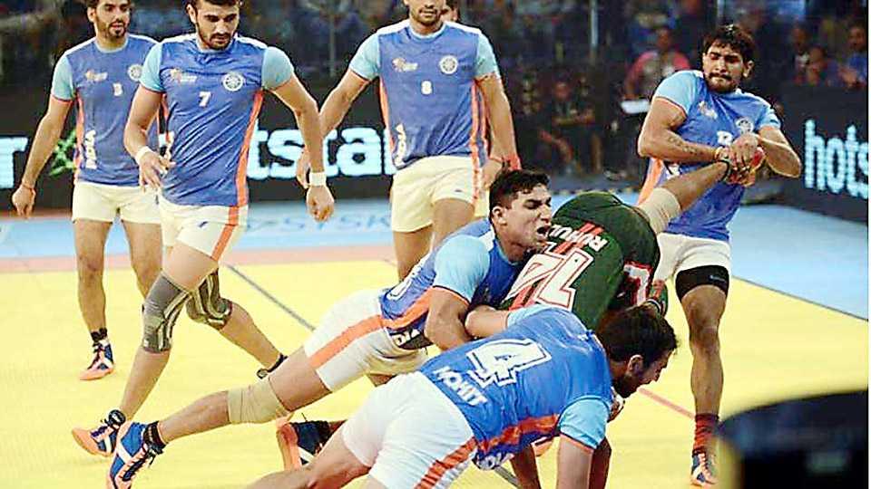 India beats Pakistan in kabaddi