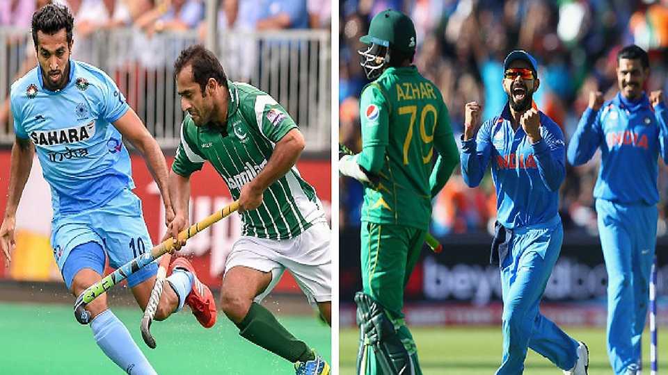 Super Sunday on the Cards: India vs Pakistan on Cricket & Hockey Fields
