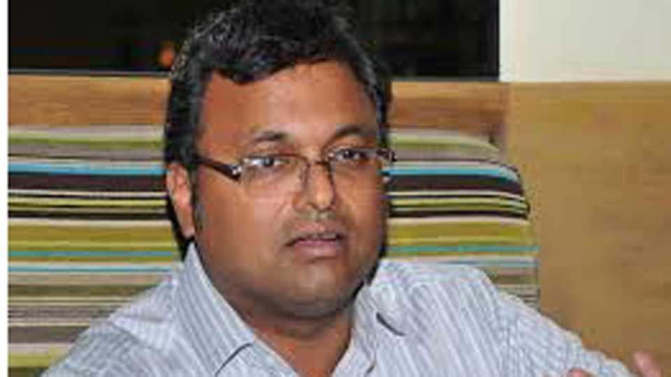National News I am not a Hindustan Leaver like others says Karti Chidambaram