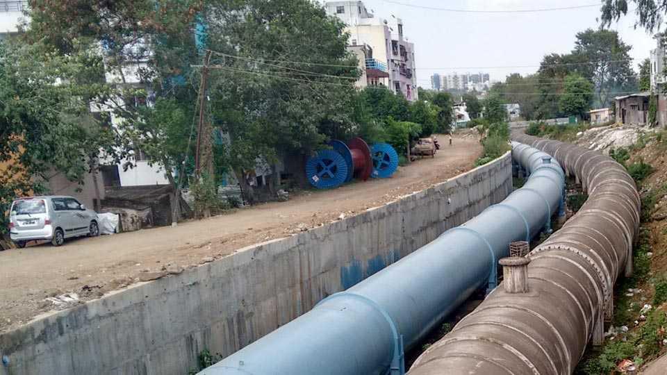 khadakwasla pipeline