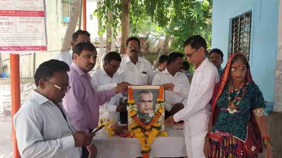 Vasantrao Naik Jayanti celebrated in Kharghar Kamoth area