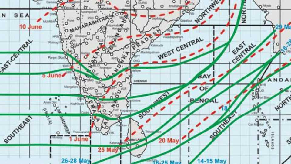 monsoon arrive in Maharashtra