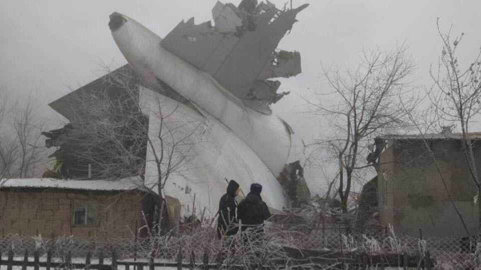 Kyrgyzstan Health Ministry says cargo plane crash kills 32