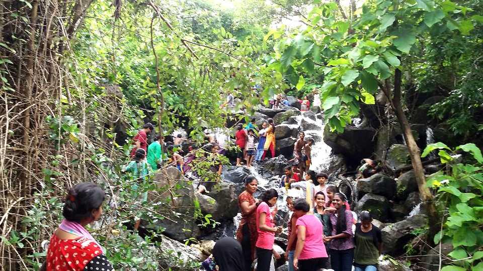 narendra waterfall sawantwadi new destination esakal news