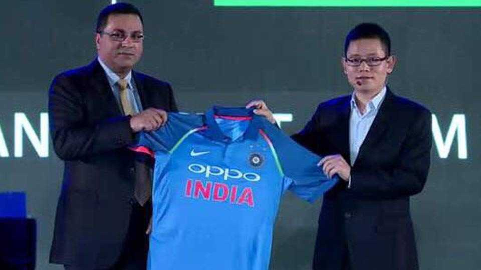 BCCI and OPPO Unveil New Team India Jersey