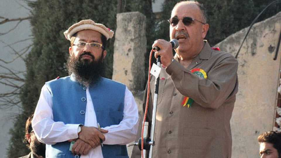 Palestine Envoy Shares Stage With Hafiz Saeed In Pak India Says Will Take Up Strongly