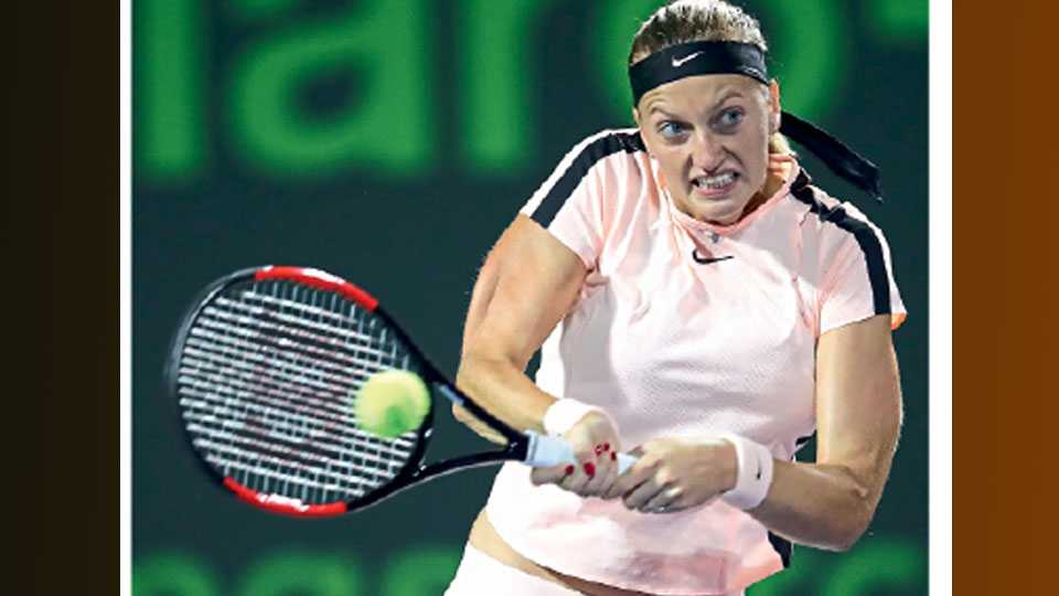 Petra Quitova won