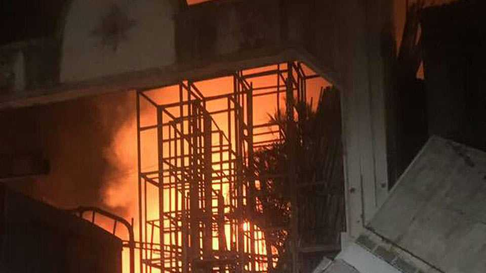 fire in pimpri