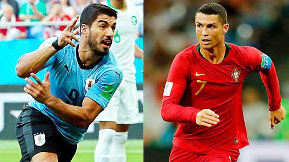 Portugal vs Uruguay Football world cup