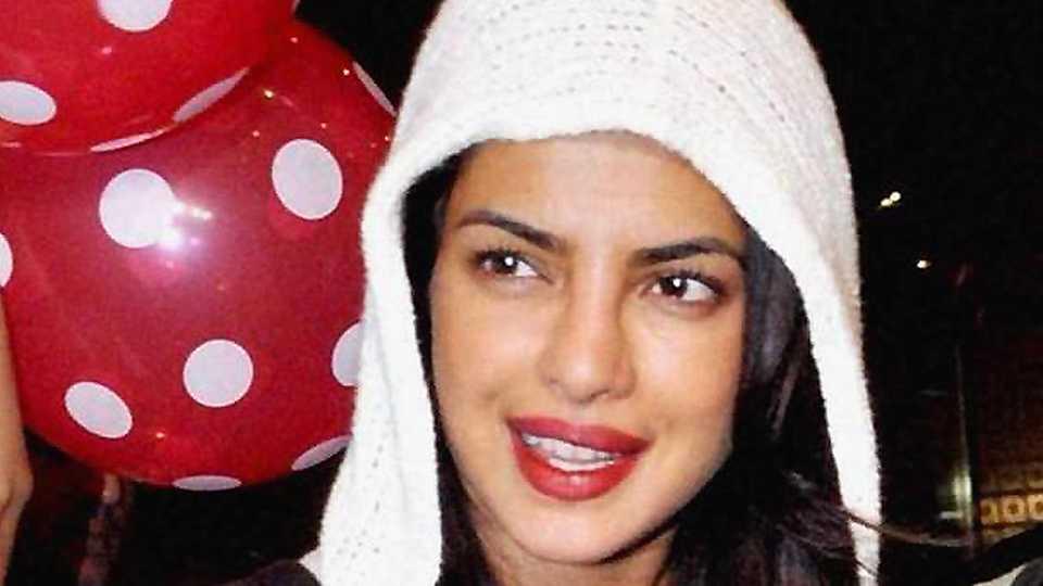 Priyanka Chopra is returning to India… in peak summer