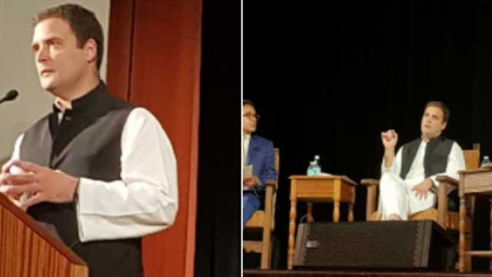 Congress VP Rahul Gandhi to interact with students of UC Berkeley