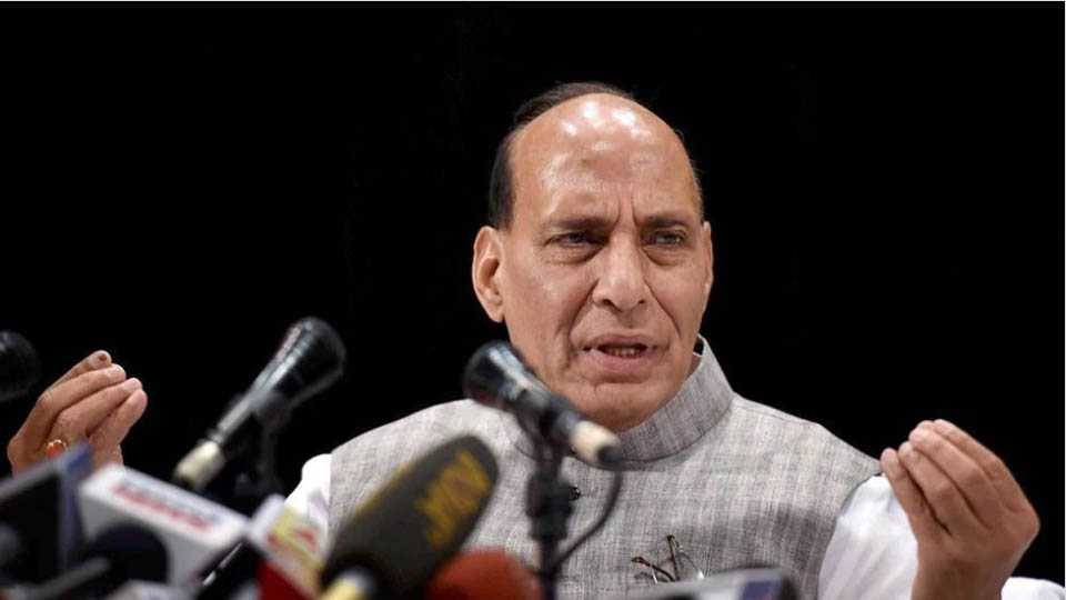 Willing to cross border to protect Kashmir says Union Home Minister Rajnath Singh