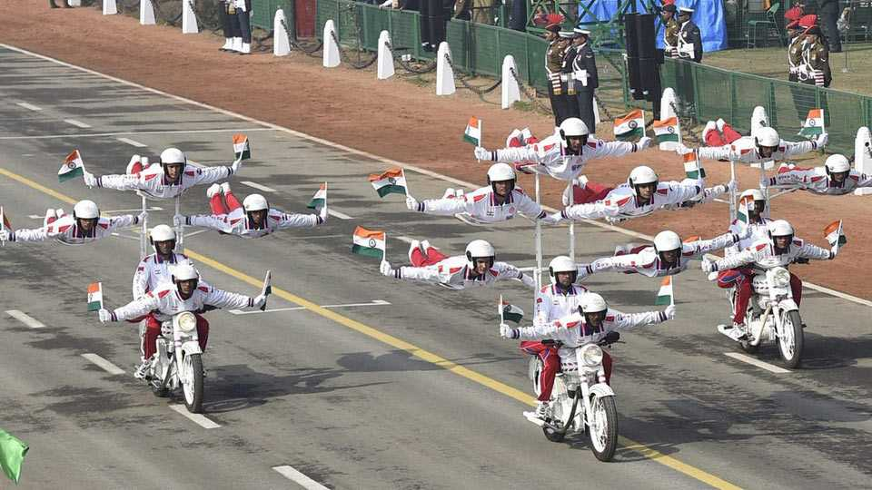 68th Republic Day celebrations: In a first, UAE soldiers, NSG commandos march in parade