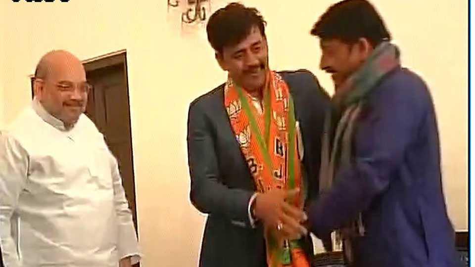 bhojpuri actor ravi kishan joins bjp