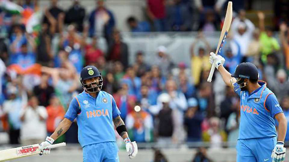India set up Pakistan Champions Trophy final with defeat of Bangladesh