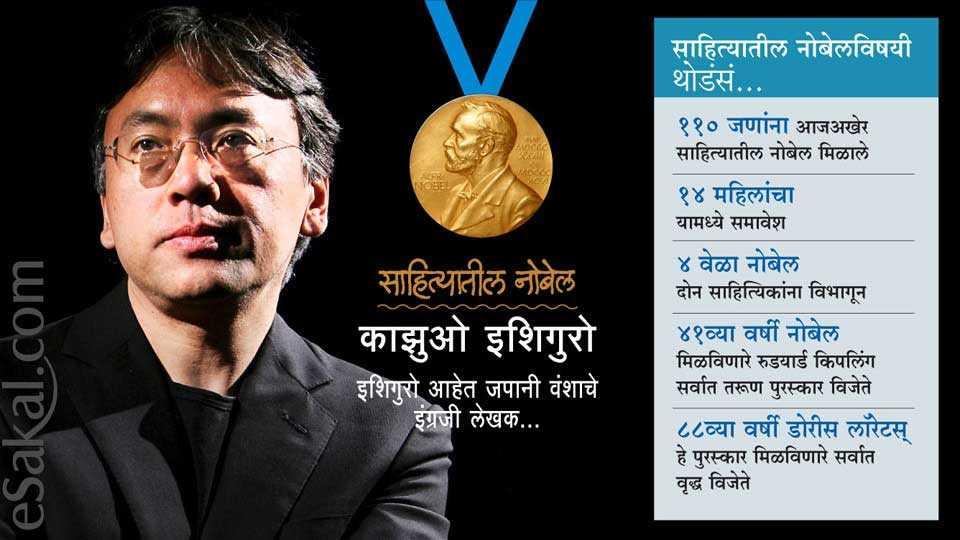 Marathi news latest news in Marathi Nobel Prize in literature 2017