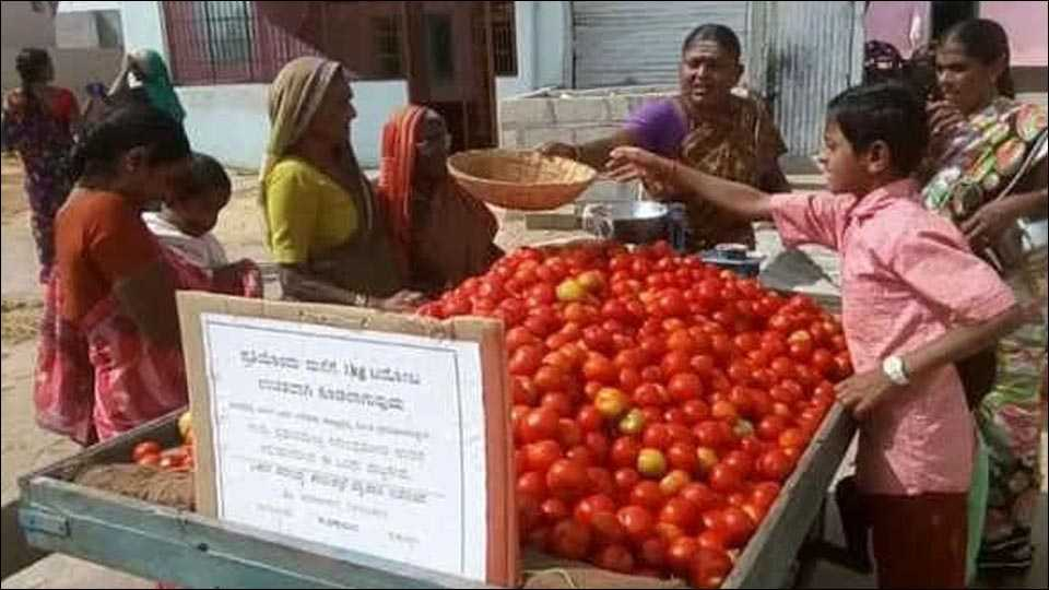 This Swachh Bharat Fan 'No. 1' In Karnataka Gives 1 Kg Tomato Free To Families With Toilets