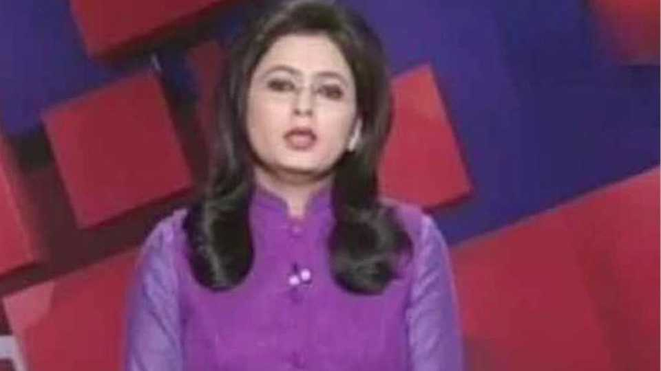 Chhattisgarh TV anchor reads out breaking news of her husband's death in car accident