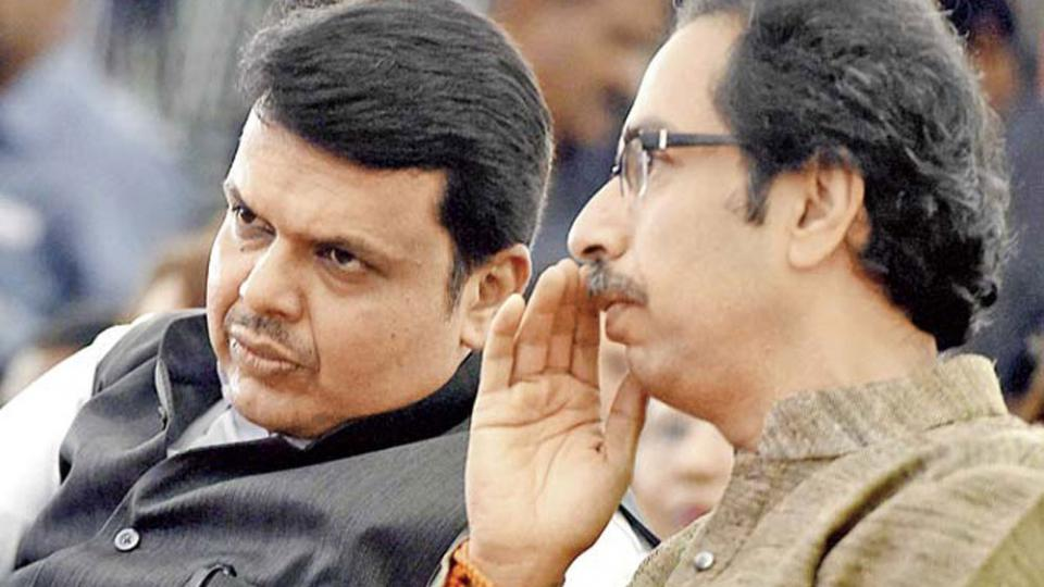 uddhav thackeray - devendra fadnavis