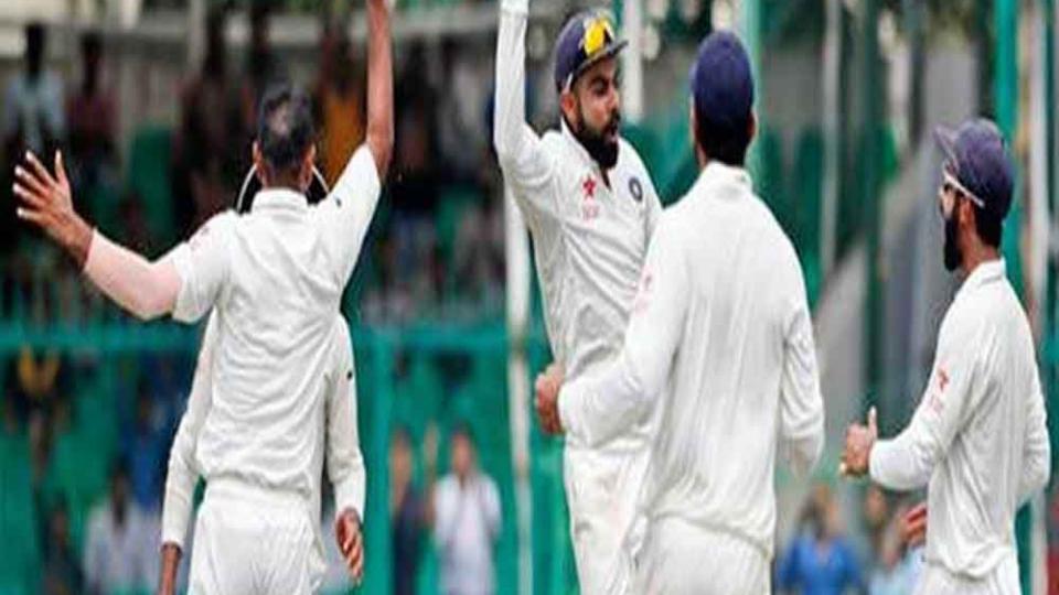 भारतीय संघाचा 'विराट' मोर्चा- 3 बाद 76