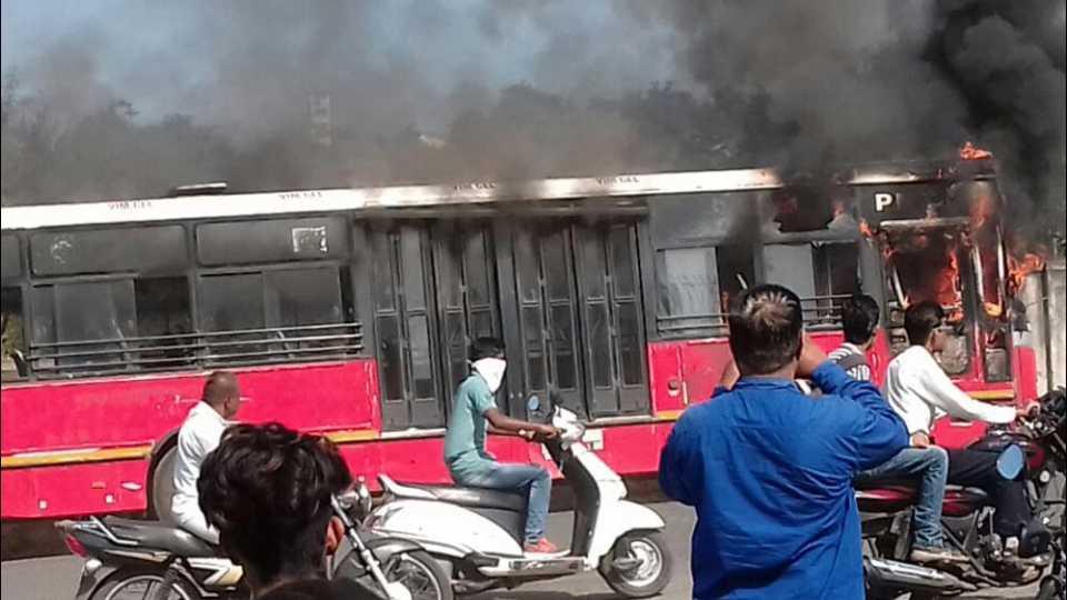 pmpml bus fire
