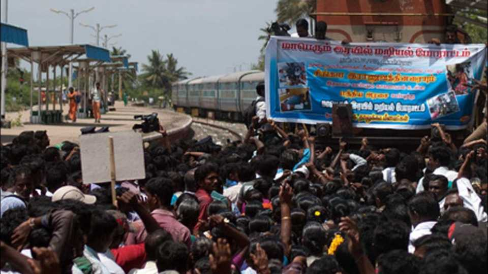 tamilnadu rail strike