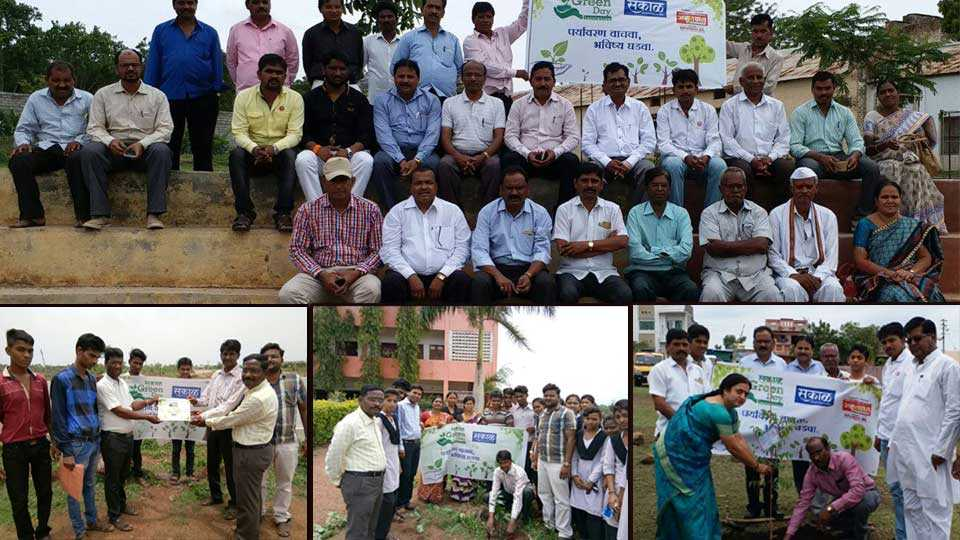 buldhana news marathi news tree plantation