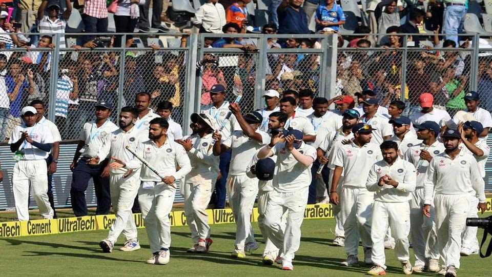 भारताचा सलग 17 वा विराट कसोटी विजय
