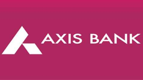 axis bank share price down